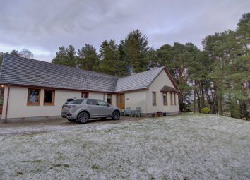Thumbnail 4 bed detached bungalow for sale in Harlogie, East Lamington, Invergordon, Ross-Shire