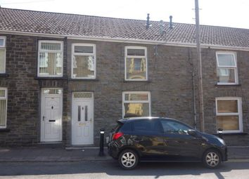 Thumbnail 3 bed terraced house to rent in Tyntyla Road, Ystrad