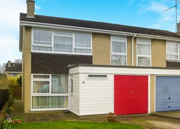 Thumbnail 4 bed semi-detached house for sale in Bury Park Drive, Bury St. Edmunds
