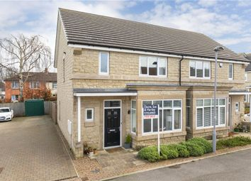 Thumbnail 3 bed semi-detached house for sale in Dale Croft Walk, Ilkley, West Yorkshire