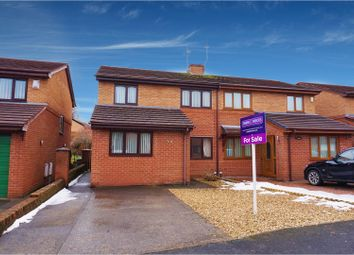Thumbnail 3 bed semi-detached house for sale in Glascoed Way, Wrexham