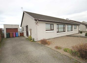 Thumbnail 2 bed semi-detached bungalow for sale in Oakfield Road, Elgin