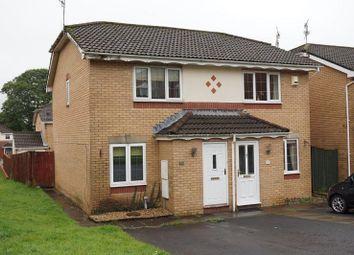 Thumbnail 2 bed semi-detached house for sale in Parc-Tyn-Y-Waun, Llangynwyd, Maesteg, Bridgend.