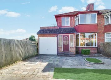 Thumbnail 3 bed semi-detached house for sale in Wetheral Drive, Stanmore, Middlesex