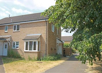 Thumbnail 2 bed end terrace house for sale in Ferndown Drive, Godmanchester