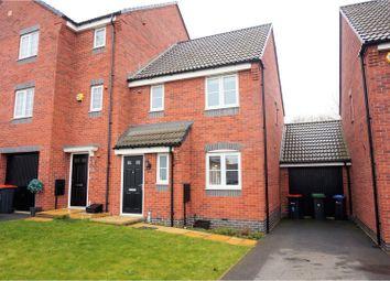 Thumbnail 3 bed town house for sale in Meryton Grove, Kirkby In Ashfield, Nottingham