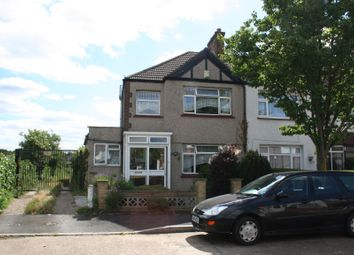 Thumbnail 3 bed end terrace house for sale in Hadley Road, Mitcham, Surrey