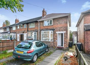 Thumbnail 2 bed end terrace house for sale in Birkenshaw Road, Great Barr, West Midlands, United