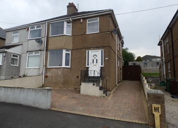 Thumbnail 3 bed semi-detached house to rent in Molesworth Road, Plympton, Plymouth