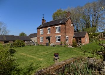 Thumbnail 7 bed farmhouse for sale in Snelston, Ashbourne
