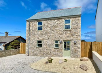 Thumbnail 3 bed detached house for sale in Pendeen, Penzance