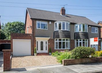 Thumbnail 3 bedroom semi-detached house for sale in Dukes Meadow, Woolsington, Newcastle Upon Tyne, Tyne And Wear
