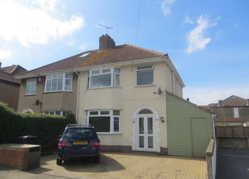 Thumbnail 3 bedroom semi-detached house for sale in Shaftesbury Road, Weston Super Mare