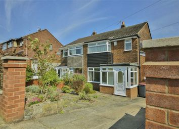 Thumbnail 3 bed semi-detached house for sale in Lawefield Crescent, Clifton, Swinton, Manchester