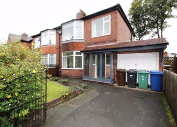Thumbnail 3 bed semi-detached house to rent in Avondale Road, Whitefield, Whitefield Manchester