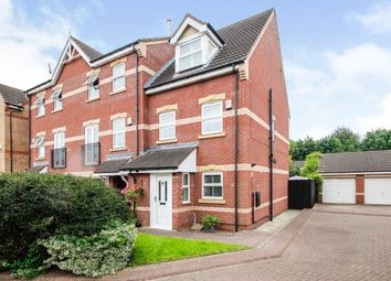 Thumbnail 3 bed town house for sale in Coniston Drive, Balby, Doncaster