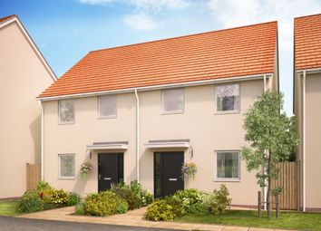 Thumbnail 3 bed semi-detached house for sale in Landsdowne Park, Totnes, Devon