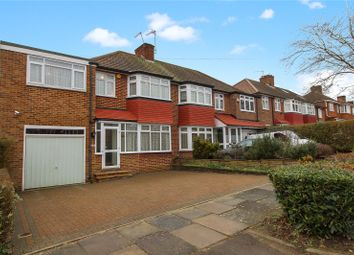 Thumbnail 4 bed semi-detached house for sale in Merryhills Drive, Enfield