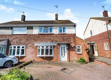 Thumbnail 2 bed semi-detached house for sale in Chaucer Road, Wellingborough