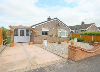 Thumbnail 2 bed detached bungalow for sale in Jasmine Road, Great Bridgeford, Stafford, Staffordshire