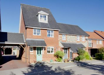 Thumbnail 3 bed end terrace house for sale in Bluebell Close, Andover