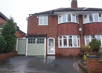 Thumbnail 3 bed semi-detached house for sale in Orton Avenue, Walmley, Sutton Coldfield
