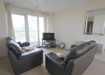 Thumbnail 2 bed flat for sale in Victoria Wharf, Watkiss Way, Cardiff Bay