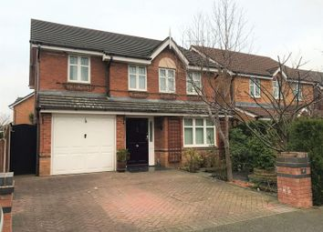 Thumbnail 4 bed detached house for sale in Elstree Court, Widnes