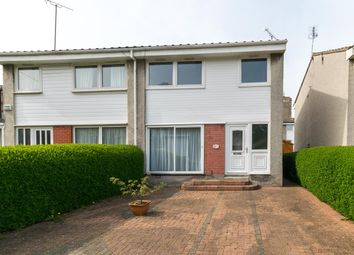 Thumbnail 3 bed semi-detached house for sale in Craighall Crescent, Trinity, Edinburgh