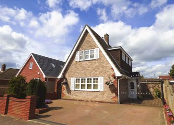 Thumbnail 3 bed detached house for sale in Chestnut Avenue, Bradwell, Great Yarmouth
