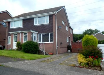 Thumbnail 3 bed semi-detached house for sale in Heol Treffynnon, Cwmrhydyceirw, Swansea