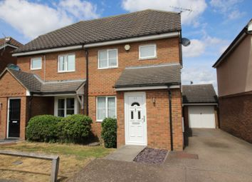 Thumbnail 3 bed semi-detached house for sale in Capstan Mews, Gravesend, Kent