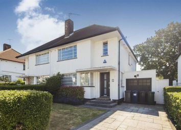 Thumbnail 4 bed semi-detached house to rent in Hutchings Walk, Hampstead Garden Suburb