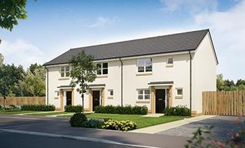 """Thumbnail 2 bed terraced house for sale in """"The Coleford"""" at Glasgow Road, Denny"""