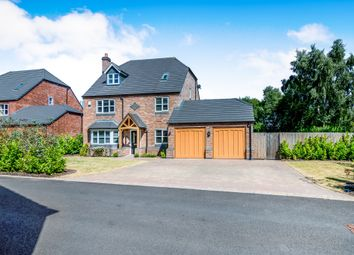 Thumbnail 6 bed detached house for sale in New Hayes Park, New Hayes Road, Cannock
