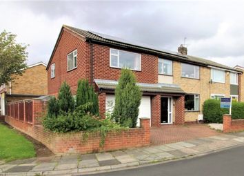 Thumbnail 4 bed semi-detached house for sale in Barton Crescent, Wolviston Court, Billingham