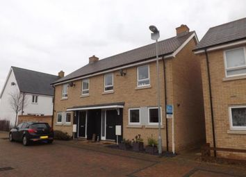 Thumbnail 3 bed semi-detached house for sale in Neptune Road, Biggleswade, Bedfordshire