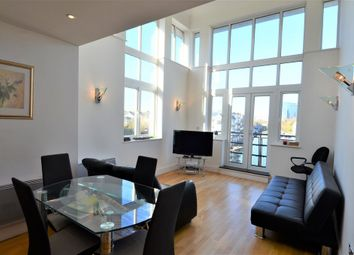 Thumbnail 3 bed flat to rent in Dorey House, Brentford Lock