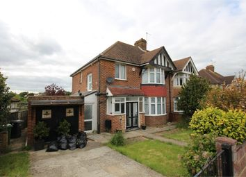 Thumbnail 3 bedroom semi-detached house to rent in Tudor Avenue, St Leonards-On-Sea, East Sussex