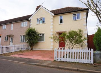 Thumbnail 3 bed end terrace house for sale in Willow Close, Bromley
