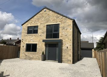 Thumbnail 4 bed detached house for sale in Longwood Edge Road, Salendine Nook, West Yorkshire