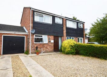 Thumbnail 3 bed semi-detached house for sale in Juler Close, North Walsham
