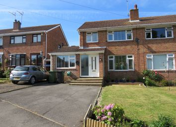 Thumbnail 4 bed semi-detached house for sale in Dell Close, Fair Oak, Eastleigh