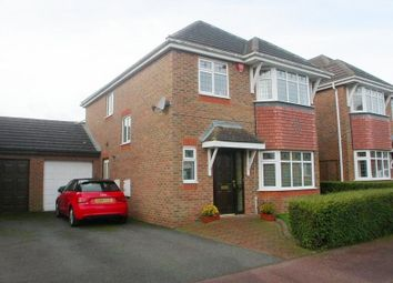 Thumbnail 4 bedroom detached house to rent in Wiltshire Way, Milton Keynes