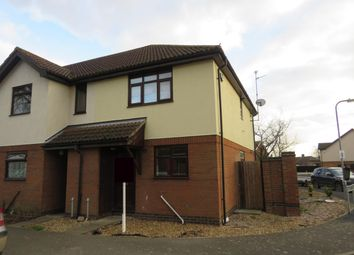 Thumbnail 2 bed end terrace house to rent in Watergate, Quadring, Spalding