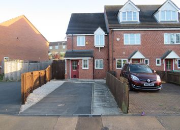 Thumbnail 2 bed end terrace house for sale in Bakewell Drive, Nottingham