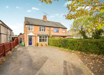Thumbnail 3 bed semi-detached house for sale in Hinckley Road, Leicester Forest East, Leicester