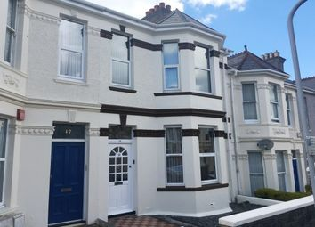 Thumbnail 1 bed flat to rent in Derry Avenue, Plymouth
