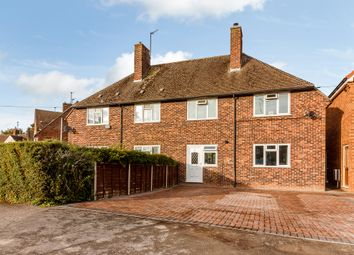 Thumbnail 3 bed semi-detached house for sale in Hawthorn Road, Newbury