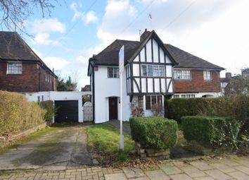 Thumbnail 4 bed semi-detached house for sale in Cornwood Close, London